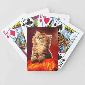 火山猫、vulcan猫、 バイスクルトランプ