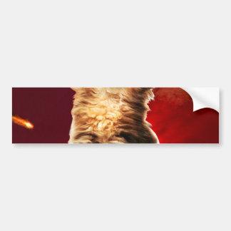 火山猫、vulcan猫、 バンパーステッカー