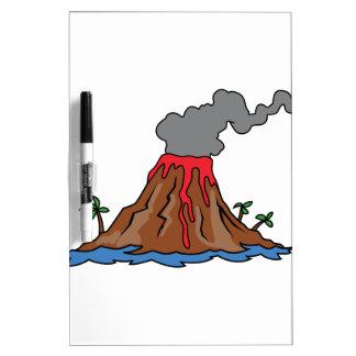 火山 ホワイトボード