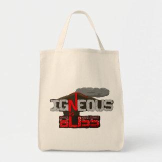 火成至福の火山バッグはです トートバッグ