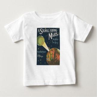 火星からの信号 ベビーTシャツ