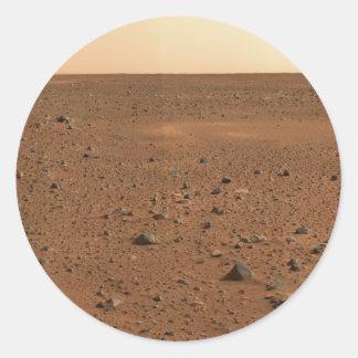 火星からの挨拶 ラウンドシール
