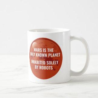 火星のロボット コーヒーマグカップ