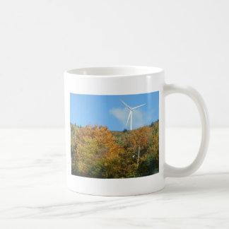火星の丘山メインの秋の風車 コーヒーマグカップ