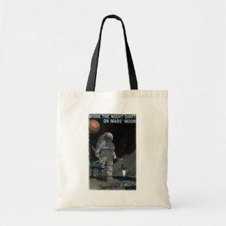 火星の募集-夜勤のトートバック トートバッグ