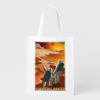 火星の募集-検査官は買い物袋がほしいと思いました エコバッグ