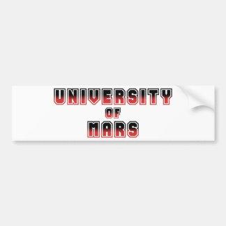 火星の大学 バンパーステッカー