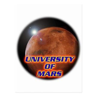 火星の大学 ポストカード
