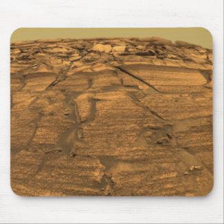 火星の焼跡の崖の眺め マウスパッド