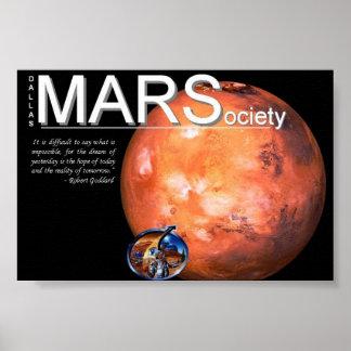 火星の社会ポスター ポスター