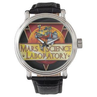 火星の科学研究所の代表団のロゴ 腕時計