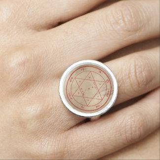 火星の第2星形五角形 リング