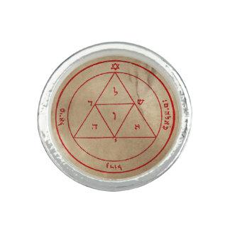 火星の第3星形五角形 指輪