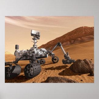 火星の興味の粗紡機 ポスター