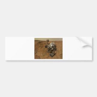 火星の興味の自画像 バンパーステッカー