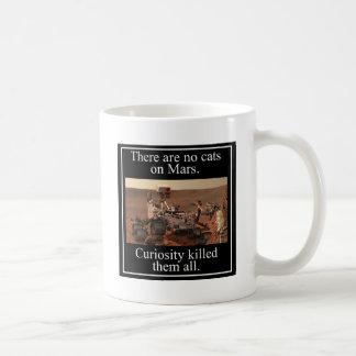 火星のNASAの興味の粗紡機及び猫無し コーヒーマグカップ