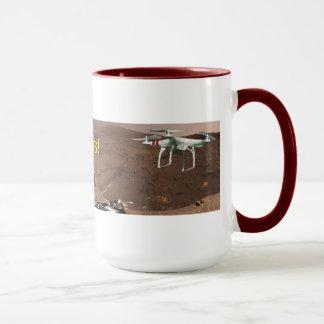 火星のQuadcopter! コーヒー・マグ マグカップ
