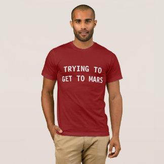 火星のTシャツ Tシャツ