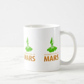 火星のVeganization コーヒーマグカップ