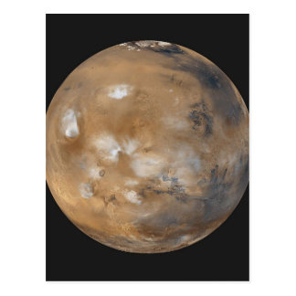 火星のWispy雲 ポストカード
