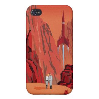 火星への宇宙旅行ポスター iPhone 4 COVER