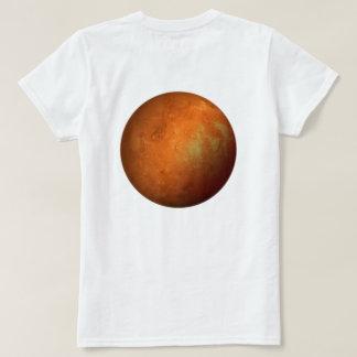 火星人のための火星 Tシャツ