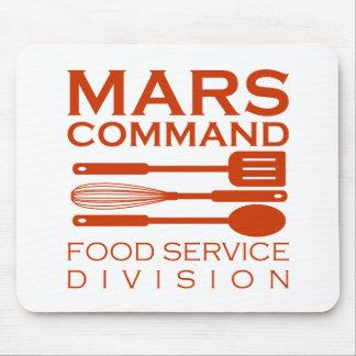 火星命令フードサービス部 マウスパッド