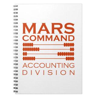 火星命令会計部 ノートブック