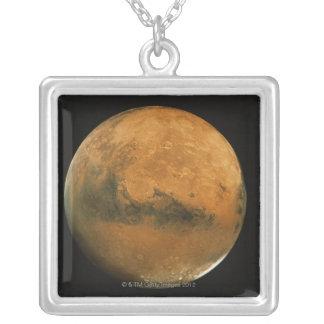 火星2 シルバープレートネックレス