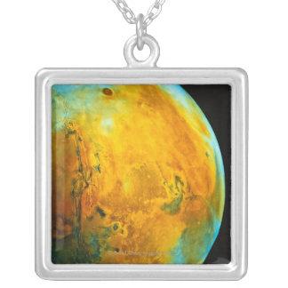 火星4 シルバープレートネックレス