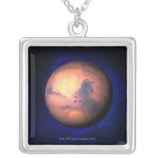 火星5 シルバープレートネックレス
