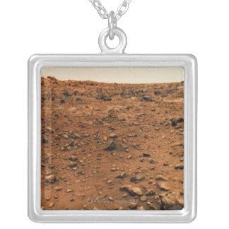 火星9 シルバープレートネックレス