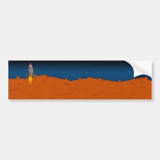 火星 バンパーステッカー