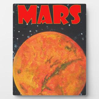 火星 フォトプラーク