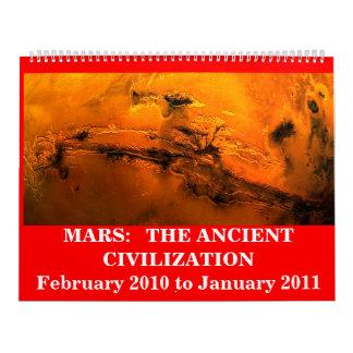 火星:  古代文明 カレンダー