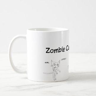 火星#01からのゾンビ猫 コーヒーマグカップ