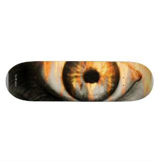 火板の目 スケートボードデッキ