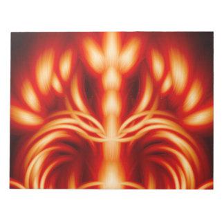火王の王位 ノートパッド