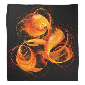 火球の抽象美術 バンダナ