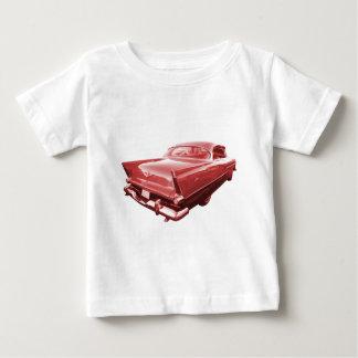 火球の激怒の1956年のプリマスのテールフィン ベビーTシャツ