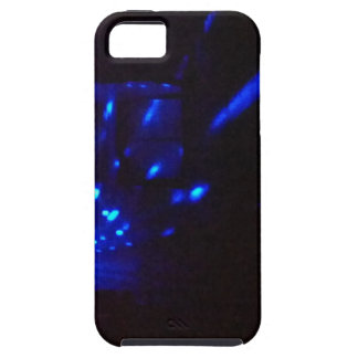 火花との青い火の黒 iPhone SE/5/5s ケース