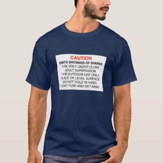 火花のシャワー Tシャツ