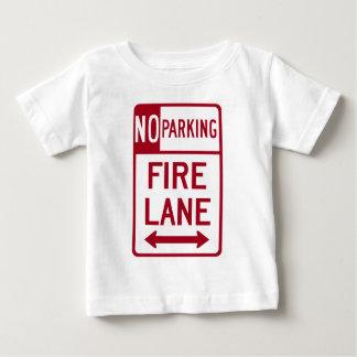 火車線ノーパーキングの印 ベビーTシャツ
