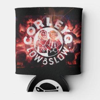 """""""火""""のデザインのCorleyQのロゴとできて下さい 缶クーラー"""