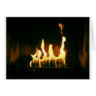 火 グリーティングカード