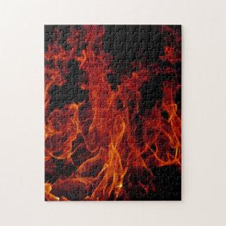火 ジグソーパズル
