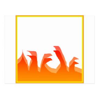 火 ポストカード