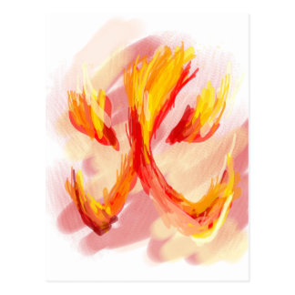 火[日本語] ポストカード