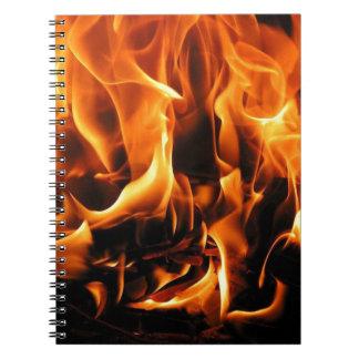火、炎 ノートブック