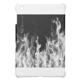 火(白黒) iPad MINI カバー